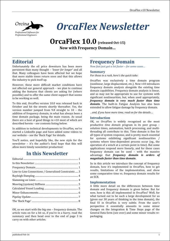 10.0 newsletter