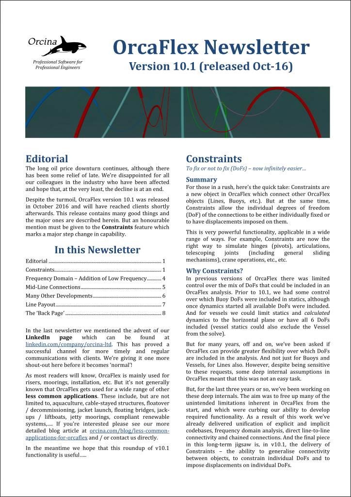 10.1 newsletter