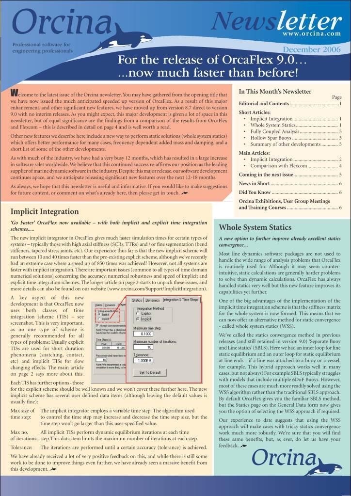 9.0 newsletter