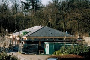 The Daltongate office under construction in 1999