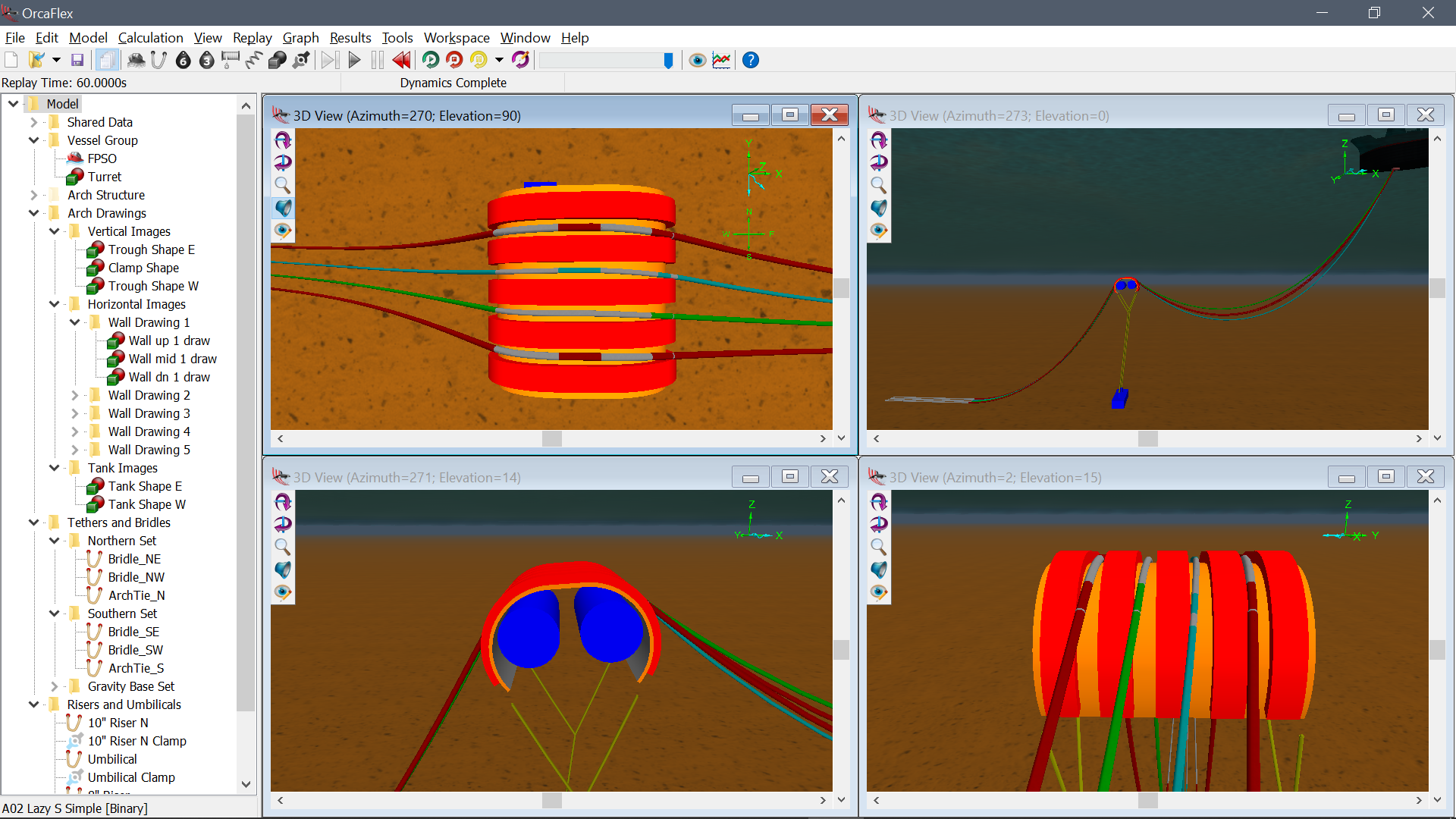 OrcaFlex - dynamic analysis software for offshore marine systems