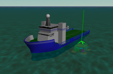 F07 Suction anchor lowering screenshot