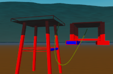 H03 Floating and stowed lines screenshot