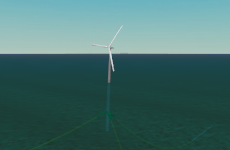 K01 Floating wind turbine screenshot
