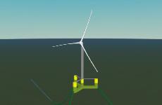 K03 Fixed-bottom offshore wind turbine screenshot