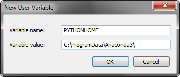 New PYTHONHOME environment variable